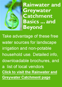 rainwater catchment information